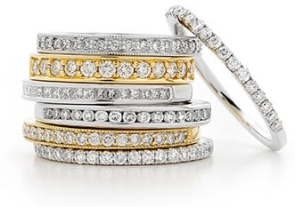 Diamond Rings by Stelios Jewellers in Perth