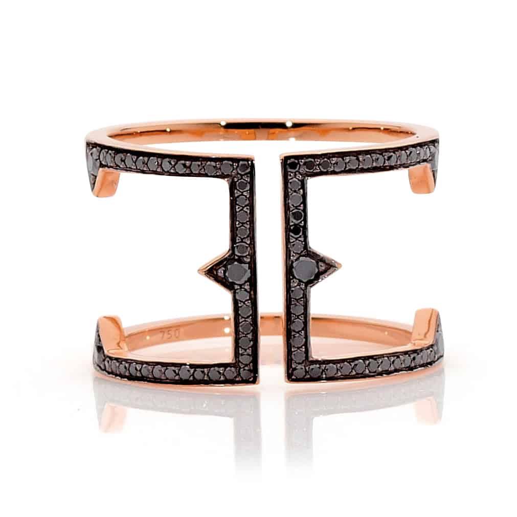 Black Diamond ring by Stelios Jewellers in Perth