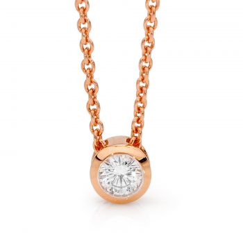 Round Brilliant Diamond pendant by Stelios Jewellers in Perth
