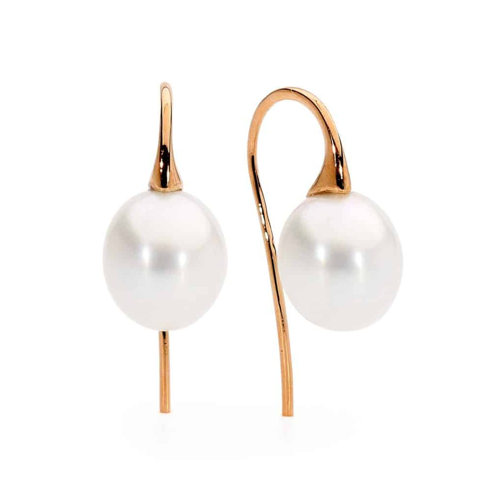Australian South Sea pearl earrings by Stelios Jewellers in Perth