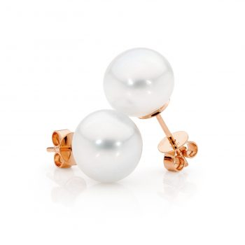 Australian South Sea Pearl studs by Stelios Jewellers in Perth