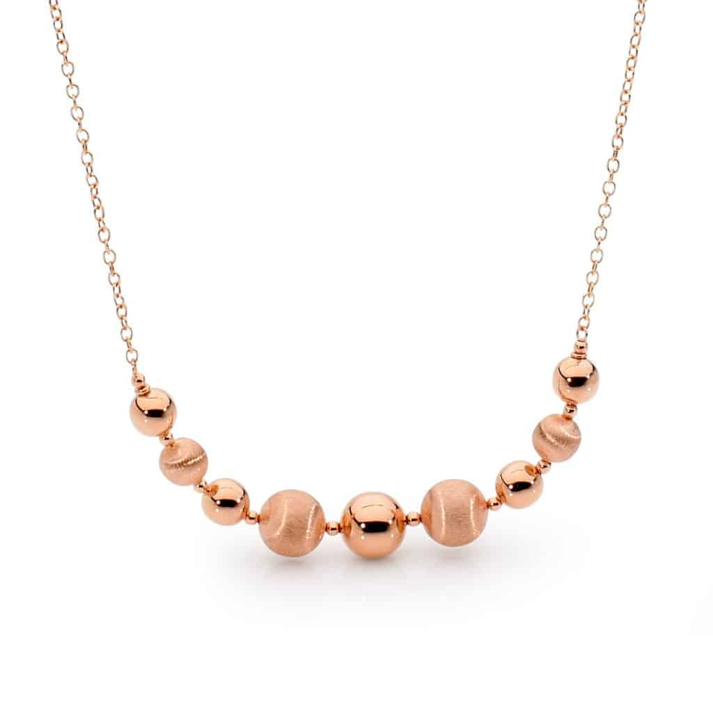 Rose Gold necklace by Stelios Jewellers in Perth