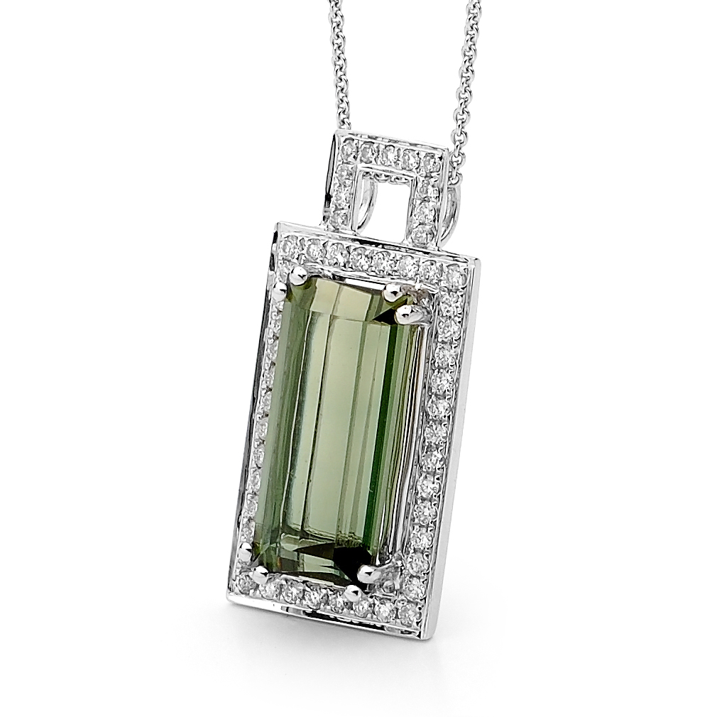 Tourmaline Pendant by Stelios Jewellers in Perth