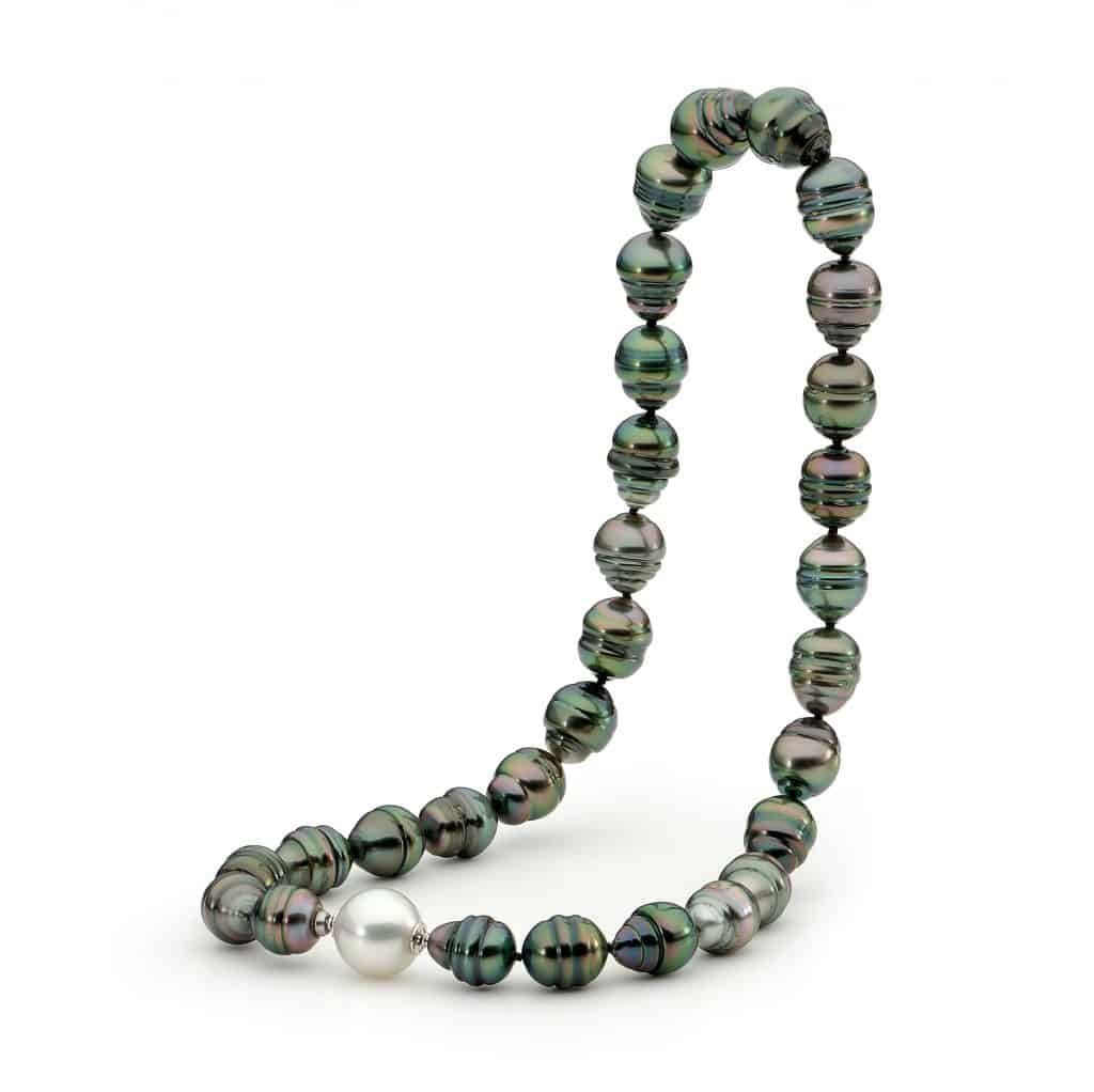 Black Tahitian Pearl Strand by Stelios Jewellers in Perth
