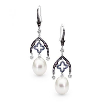 CLEOPATRA Pearl Earrings by Stelios Jewellers in Perth