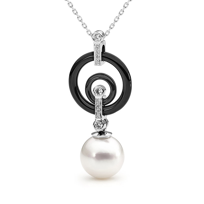 KIKLOS pearl necklace by Stelios Jewellers in Perth