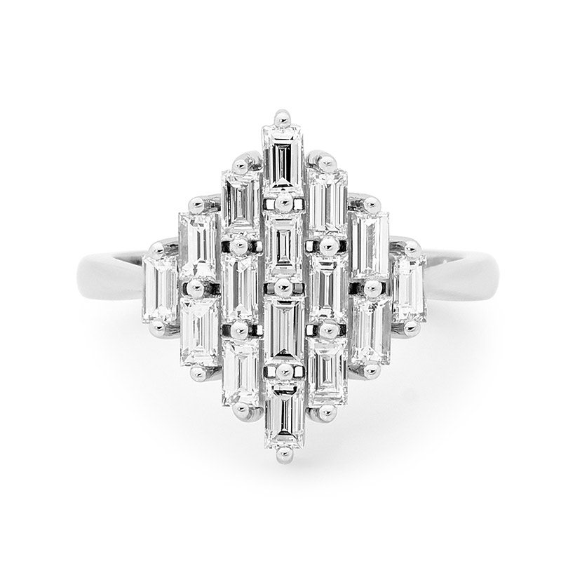 TETRA engagement ring by Stelios Jewellers in Perth