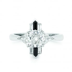 TRILLION engagement ring by Stelios Jewellers in Perth