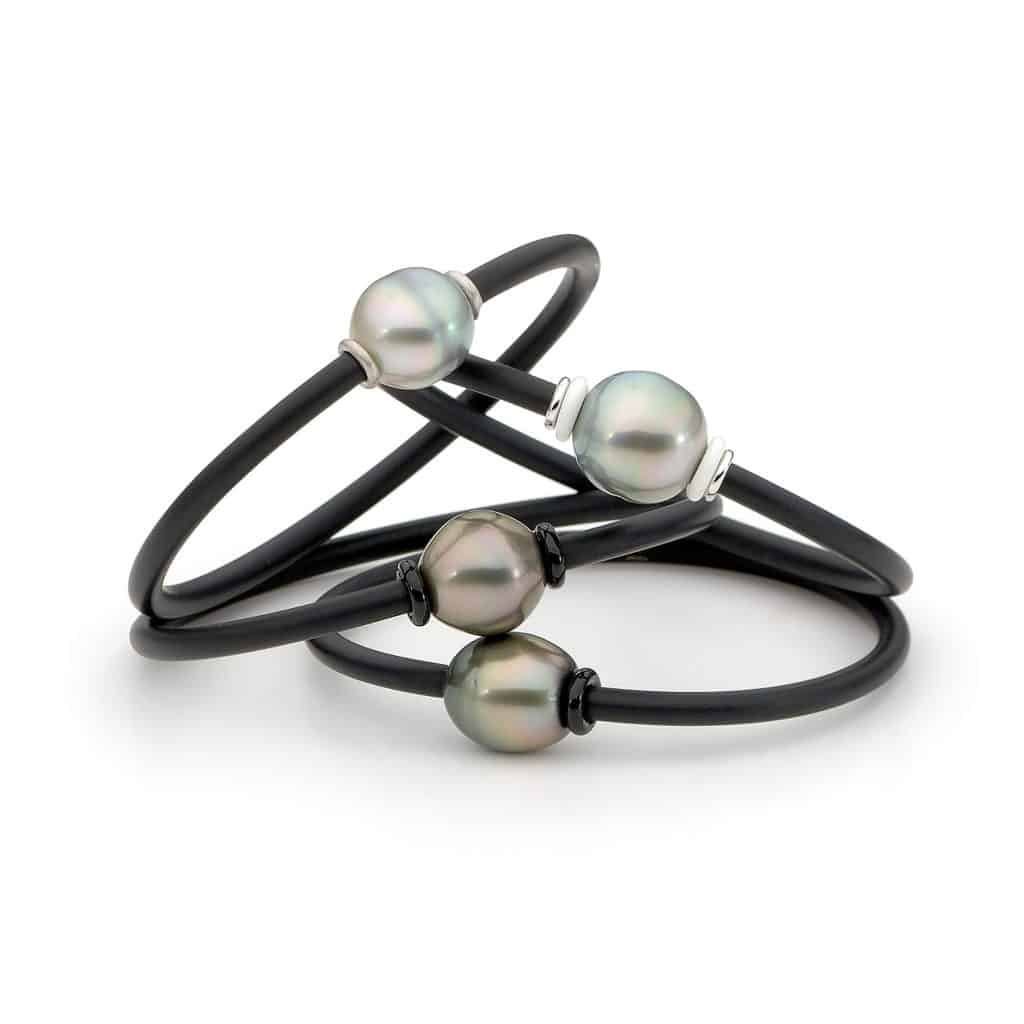 Australian South Sea Pearl Bangle By Stelios Jewellers in Perth