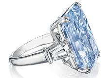 Blue Diamond Ring by Stelios Jewellers in Perth