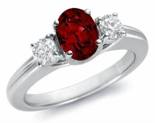 Padparadscha Sapphire Ring by Stelios Jewellers in Perth