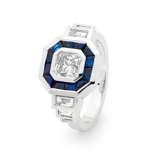 Lividus Diamond Engagement Ring By Stelios Jewellers in Perth
