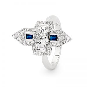 VATICA Engagement Ring by Stelios Jewellers in Perth