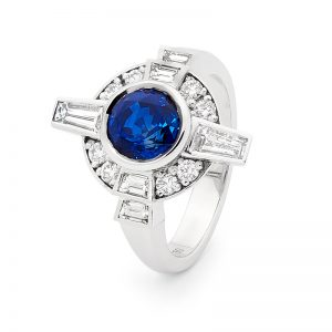 AZZURRO engagement ring by Stelios Jewellers in Perth