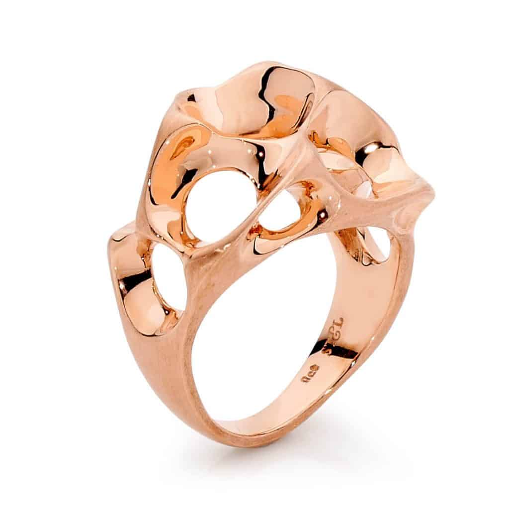 9ct Rose Gold Dress Ring By Stelios Jewellers in Perth