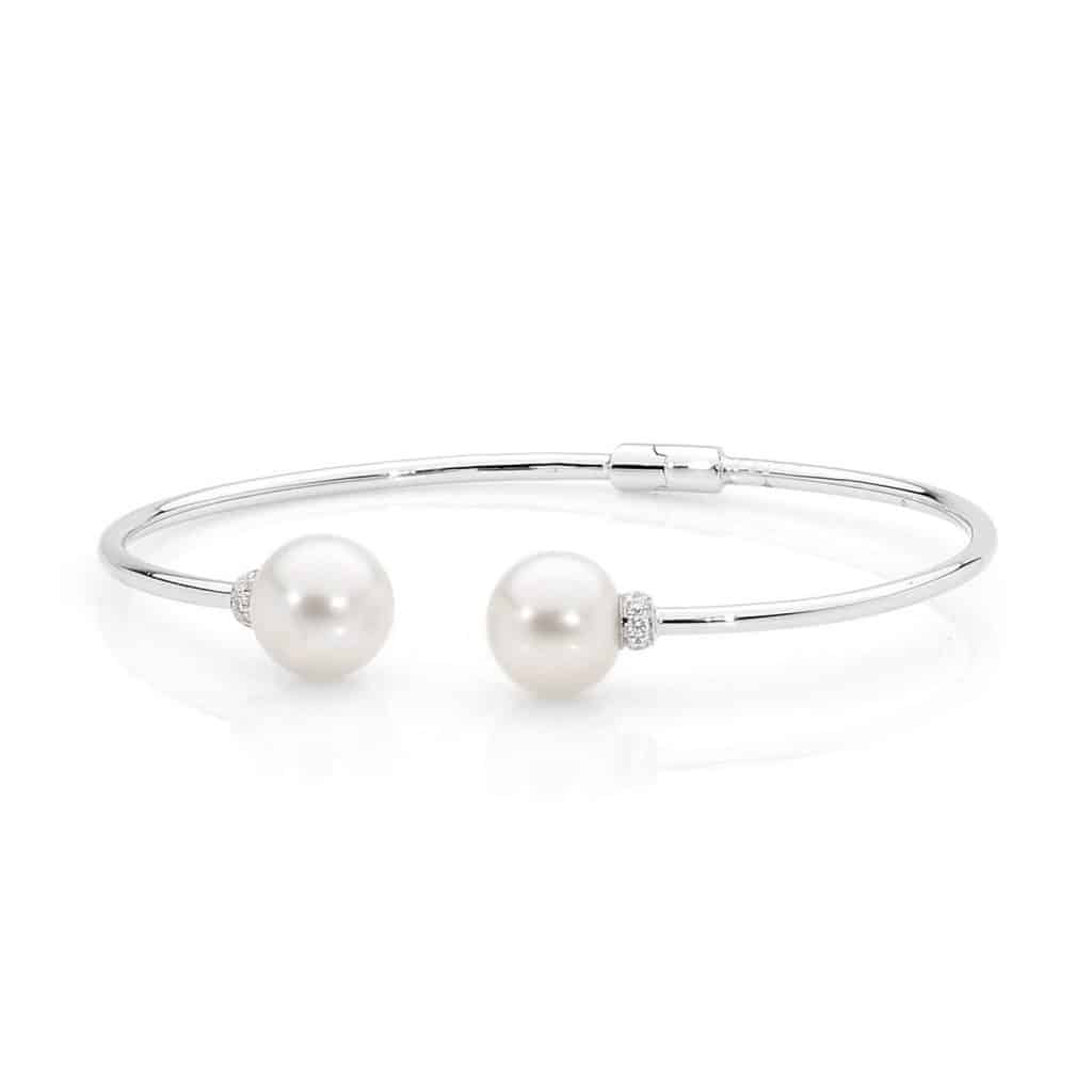 Pearl Bangle By Stelios Jewellers in Perth